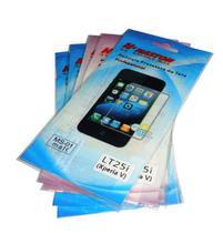 Kit 5 Películas Plástico Sony Xperia V LT25I - H' Maston