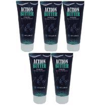 Kit 5 Protetor de Pele Ciclismo Antiatrito Action Butter Tahoma -