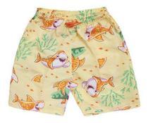 Kit 5 Shorts Masculino Infantil Estampado Garotinhos Atacado - Regional