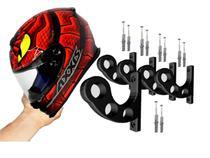 Kit 5 Suporte de Parede para Pendurar Capacete e Acessórios - 3D Já