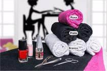 Kit 5 Toalhas para Manicure e Pedicure - 28cm x 45cm - New Básico