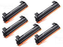 Kit 5 Toner Compatível TN1060 1060  DCP1602 DCP1512 DCP1617NW HL1112 HL1202 HL1212W - PREMIUM