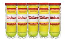 Kit 5 Tubos de Bolas de Tênis Championship - Wilson -