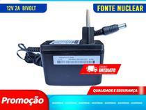 Kit 5 Unidades Fonte 12V - 2A Nuclear Bivolt - Shopdng