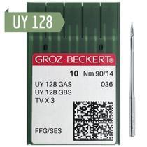 Kit 50 agulhas costura galoneira ind uy128 90/14 grozbeckert - GROZ BECKERT