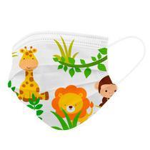 Kit 50 Máscaras Descartáveis Infantil Filtro Meltblown Clipe - Store 7