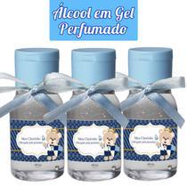 Kit 50 Mini Álcool Gel Perfumado Lembrancinhas Maternidade - Click Aroma