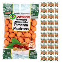 Kit 50 Pacotes Amendoim Crocante Sabor Pimenta Mexicana 50 gramas - Amendoim dumario