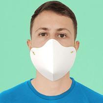Kit 500 Máscaras de proteção descartável em papel especial e impermeável - Wbl Gráfica E Editora Ltda