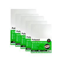 Kit 500 Plásticos Polaseal p/ Plastificação RG,CPF,Crachá 0,05mm - Marpax