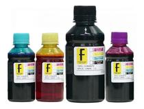 Kit 500ml  tintas para recarga de Cartuchos e Bulk Ink Impressoras de 2 Cartuchos - Fomulabs