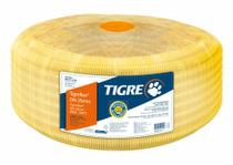 "Kit 50M Conduite Corrugado 25MM-3/4"" Amarelo Tigre - Tigre Pvc"