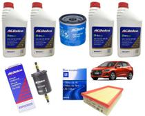 Kit 5w30 Dexos Filtros Ar Óleo Comb GM Onix Plus Turbo 2020 - ACDelco
