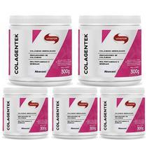 Kit 5X Colagentek - 300g Abacaxi - Vitafor -