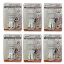 Kit 6 Adaptador De Torneira Ajustável Prolongador Extensor Pia Cozinha Banheiro - Universal Vendas