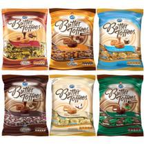 Kit 6 Balas Butter Toffees Sortidas 600g - Arcor -