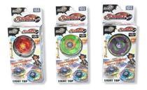 Kit 6 Beyblade Metal Tornado Fusion + 4 Lançadores + Maleta - Lianfa Toys