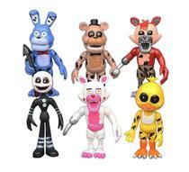 Kit 6 bonecos Fnaf Five Nights Freddys Diversos - Funkis