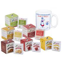 Kit 6 Caixas de Chá 10 Sachês Cada + Caneca Leite Moça 300ml - Artchá