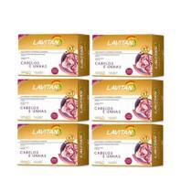 Kit 6 caixas Lavitan Hair Cabelos E Unha 360 Cápsulas - Cimed
