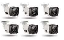 Kit 6 Câmera Segurança Bullet 4x1 AHD CVI TVI Citrox CX2920 -