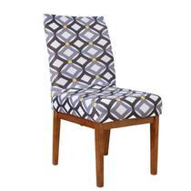 Kit 6 Capa de Cadeira Mesa Sala Jantar Elástico Modern Mônaco - Charme Do Detalhe