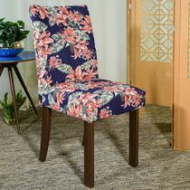Kit 6 Capa de Cadeira Spandex Mesa Sala Jantar Alisso - Charme do Detalhe