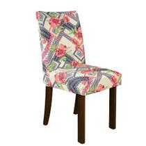 Kit 6 Capa de Cadeira Spandex Mesa Sala Jantar Maya - Charme do Detalhe