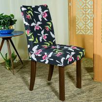 Kit 6 Capa p/ Cadeira Mesa Sala Jantar Malha Spandex Carola - Charme do Detalhe