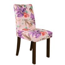 Kit 6 Capa p/ Cadeira Mesa Sala Jantar Malha Spandex Olivia - Charme do Detalhe
