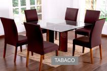 Kit 6 Capas Para Cadeira Jantar Malha Com Elástico Estampada - Ponto a Ponto Enxovais
