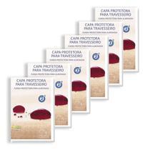Kit 6 Capas Protetoras de Travesseiro Soft - Plooma -