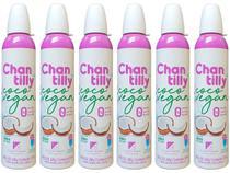 Kit 6 Chantilly de Coco Vegano Sem Glúten Klein Foods 240g -