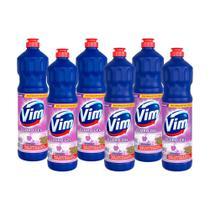 Kit 6 Desinfetantes Vim Multiuso Cloro Gel Lavanda 700ml -