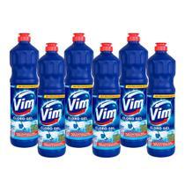 Kit 6 Desinfetantes Vim Multiuso Cloro Gel Original 700ml -