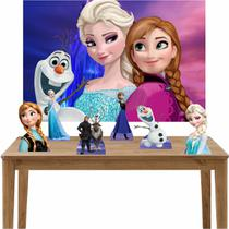 Kit 6 Displays de Mesa e Painel Frozen - Inove Adesivos