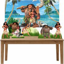 Kit 6 Displays de Mesa e Painel Moana - Inove Adesivos