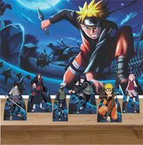 Kit 6 Displays de Mesa e Painel Naruto - Inove Adesivos
