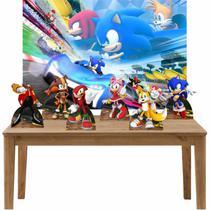 Kit 6 Displays de Mesa e Painel Sonic - Inove Adesivos