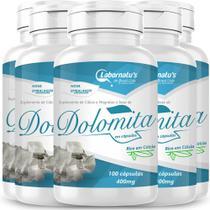 Kit 6 dolomita 400 mg 100 capsulas - Labornatus