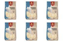 Kit 6 Extrato Soja Leite de Soja em Pó Vegano 500g Grings -