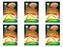 Kit 6 Farofa Crocante Proteica Vegana Sora 300g -