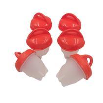 Kit 6 Formas Cozinhar Ovos  ergonômico e prático silicone - Fisgar