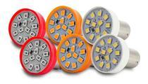 Kit 6 Lampadas Leds Lanterna Traseira Pisca Seta Re Freio Ap1202-ap1204-ap1292 - GNR