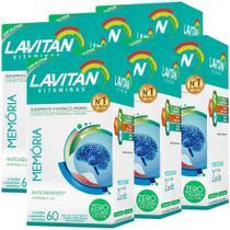 Kit 6 Lavitan Memória 60 comprimidos (360 comprimidos) - Cimed