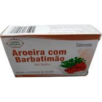 Kit 6 Lianda Natural Aroeira com Barbatimão Sabonete Barra -