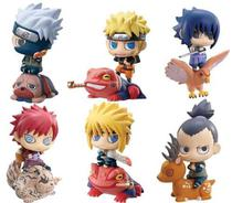 Kit 6 Mini Funko Pop Naruto C Montaria Boneco Set6