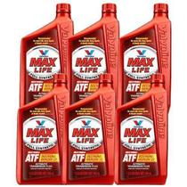 Kit 6 oleo cambio transmissao automatica maxlife atf sintetico valvoline mercon dexron 946 ml cada - kit00305 -