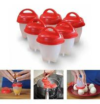 Kit 6 Ovos Silicone Forma Cozinhar Ovos Gourmet Fit  - GiftHome