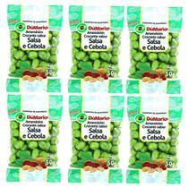 Kit 6 Pacotes Amendoim Crocante Sabor Cebola Salsa 50 gramas - Amendoim dumario